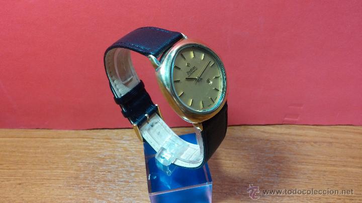 Relojes automáticos: Reloj Zodiac Automatico vintage, LTD 34 calibre 2671, de 17 jewels, años 70... - Foto 70 - 54432759