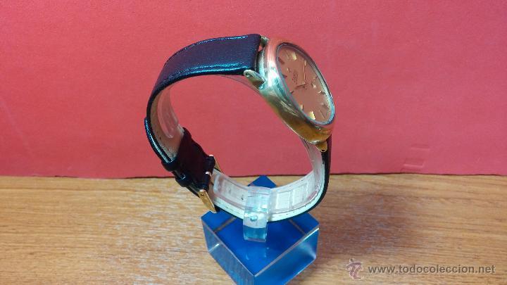 Relojes automáticos: Reloj Zodiac Automatico vintage, LTD 34 calibre 2671, de 17 jewels, años 70... - Foto 71 - 54432759