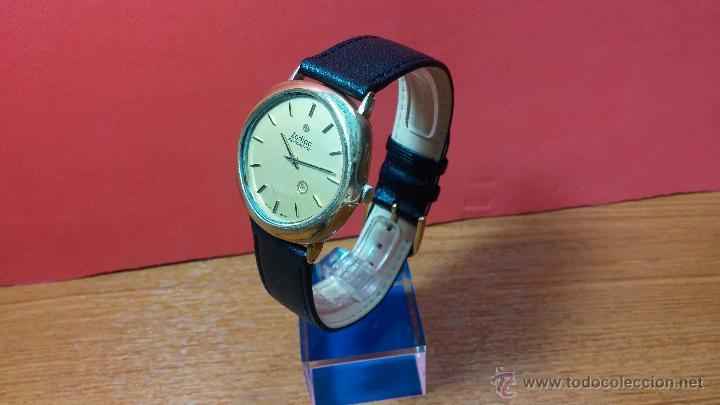 Relojes automáticos: Reloj Zodiac Automatico vintage, LTD 34 calibre 2671, de 17 jewels, años 70... - Foto 74 - 54432759