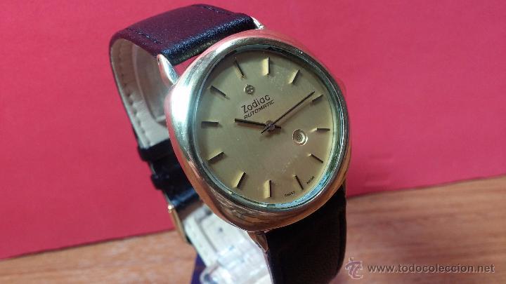 Relojes automáticos: Reloj Zodiac Automatico vintage, LTD 34 calibre 2671, de 17 jewels, años 70... - Foto 77 - 54432759