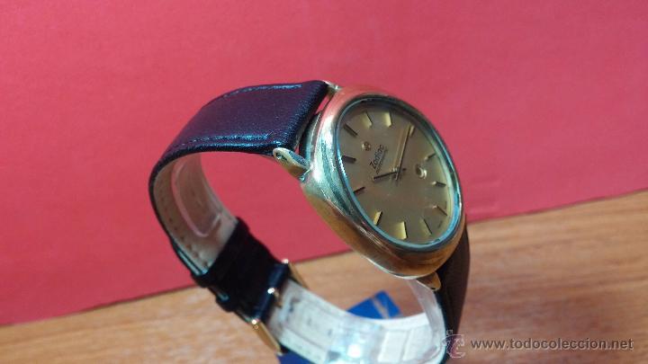 Relojes automáticos: Reloj Zodiac Automatico vintage, LTD 34 calibre 2671, de 17 jewels, años 70... - Foto 78 - 54432759