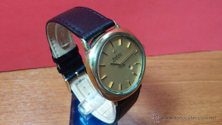 Relojes automáticos: Reloj Zodiac Automatico vintage, LTD 34 calibre 2671, de 17 jewels, años 70... - Foto 79 - 54432759