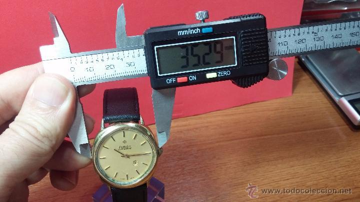 Relojes automáticos: Reloj Zodiac Automatico vintage, LTD 34 calibre 2671, de 17 jewels, años 70... - Foto 83 - 54432759