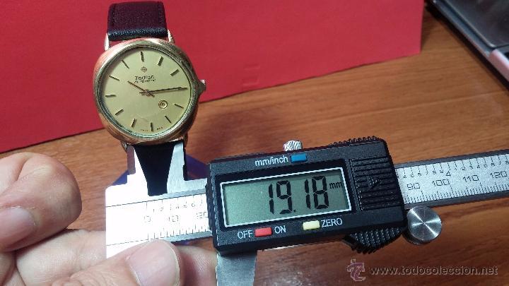 Relojes automáticos: Reloj Zodiac Automatico vintage, LTD 34 calibre 2671, de 17 jewels, años 70... - Foto 84 - 54432759