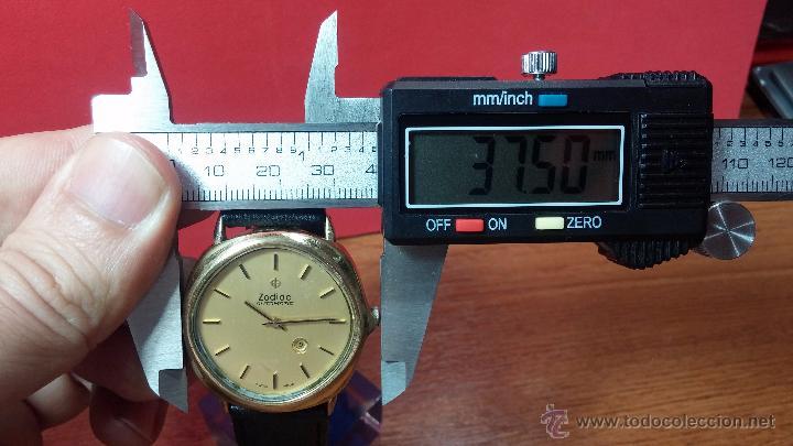 Relojes automáticos: Reloj Zodiac Automatico vintage, LTD 34 calibre 2671, de 17 jewels, años 70... - Foto 85 - 54432759