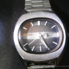 Relojes automáticos: RELOJ SEIKO AUTOMÁTICO - 17 JEWELS, CARCASA Y PULSERA EN ACERO INOXIDABLE - CABALLERO - FUNCIONA -. Lote 54848598
