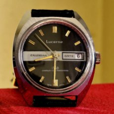 Relojes automáticos: MAGNÍFICO LUCERNE , AUTOMÁTICO SUIZO VINTAGE UNBREAKABLE MAINSPRING. Lote 54929492