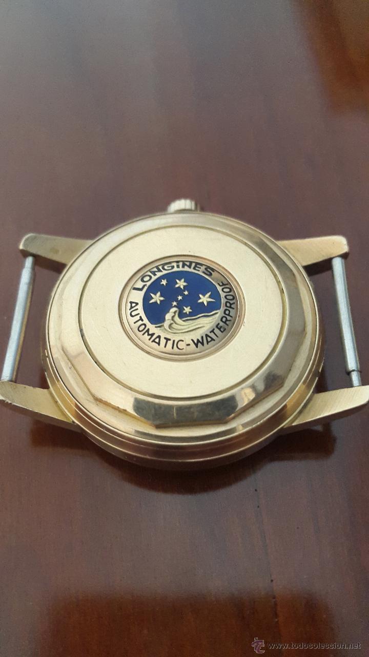 Relojes automáticos: Reloj caballero Longines automático 18 ktes - Foto 2 - 54946655