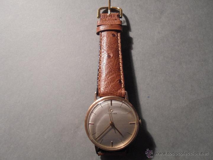 Relojes automáticos: CERTINA - RELOJ DE PULSERA AUTOMATICO CHAPADO EN ORO FUNCIONANDO , BONITA ESFERA . 4X3,7 CM. - Foto 3 - 55032927