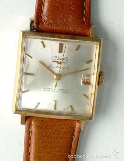 Relojes automáticos: RELOJ DUWARD SUPER AUTOMATIC CONTINUAL.FUNCIONANDO - Foto 4 - 55389959