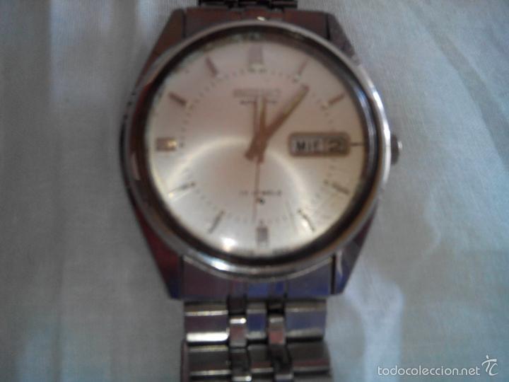 Relojes automáticos: SEIKO AUTOMATICO - . JUNIO 1.977. 38 MM. FUNCIONANDO BIEN. DESCRIPCION Y FOTOS. - Foto 3 - 56533559