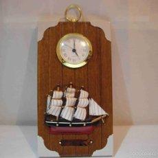 Relojes automáticos: RELOJ PARED MURAL MARINERO. Lote 56551911