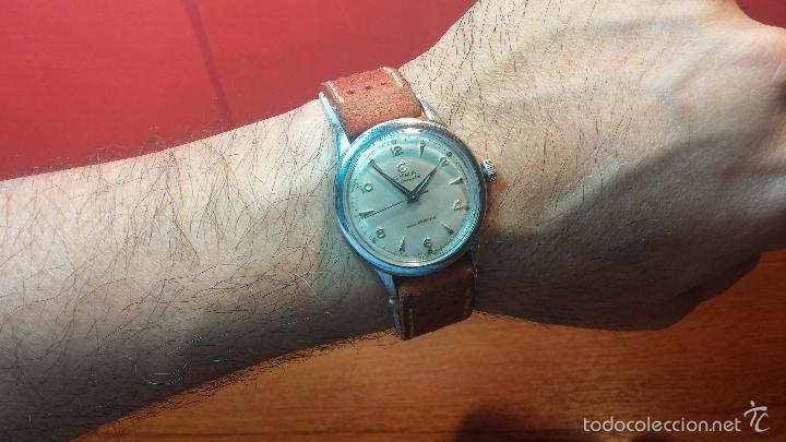 Relojes automáticos: Primer reloj Cyma Automático, shock Absorber-cal. R420 martillo, C-1948, Nºbajísimo 152656 - Foto 2 - 57121634