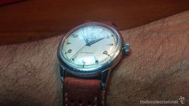 Relojes automáticos: Primer reloj Cyma Automático, shock Absorber-cal. R420 martillo, C-1948, Nºbajísimo 152656 - Foto 6 - 57121634
