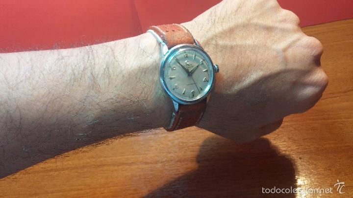 Relojes automáticos: Primer reloj Cyma Automático, shock Absorber-cal. R420 martillo, C-1948, Nºbajísimo 152656 - Foto 7 - 57121634