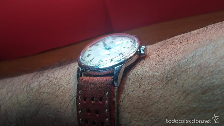 Relojes automáticos: Primer reloj Cyma Automático, shock Absorber-cal. R420 martillo, C-1948, Nºbajísimo 152656 - Foto 10 - 57121634