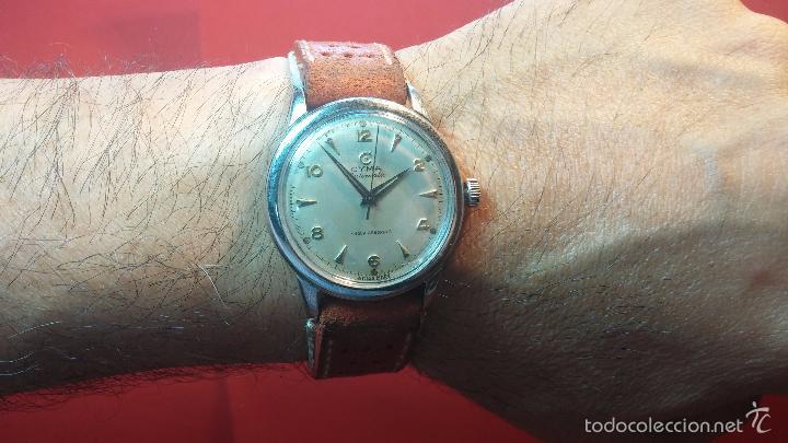 Relojes automáticos: Primer reloj Cyma Automático, shock Absorber-cal. R420 martillo, C-1948, Nºbajísimo 152656 - Foto 16 - 57121634