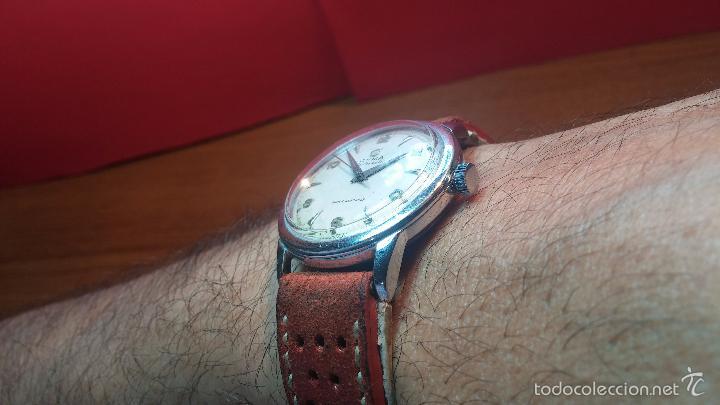 Relojes automáticos: Primer reloj Cyma Automático, shock Absorber-cal. R420 martillo, C-1948, Nºbajísimo 152656 - Foto 19 - 57121634