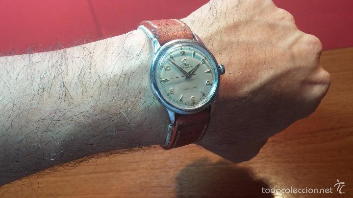 Relojes automáticos: Primer reloj Cyma Automático, shock Absorber-cal. R420 martillo, C-1948, Nºbajísimo 152656 - Foto 20 - 57121634