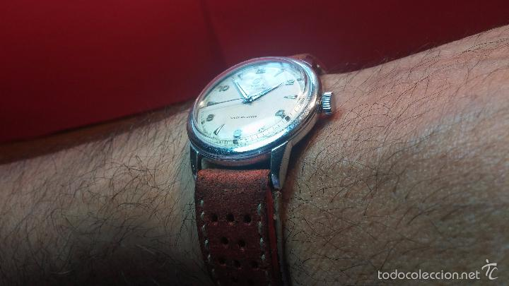 Relojes automáticos: Primer reloj Cyma Automático, shock Absorber-cal. R420 martillo, C-1948, Nºbajísimo 152656 - Foto 21 - 57121634