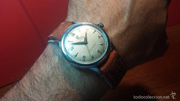 Relojes automáticos: Primer reloj Cyma Automático, shock Absorber-cal. R420 martillo, C-1948, Nºbajísimo 152656 - Foto 22 - 57121634