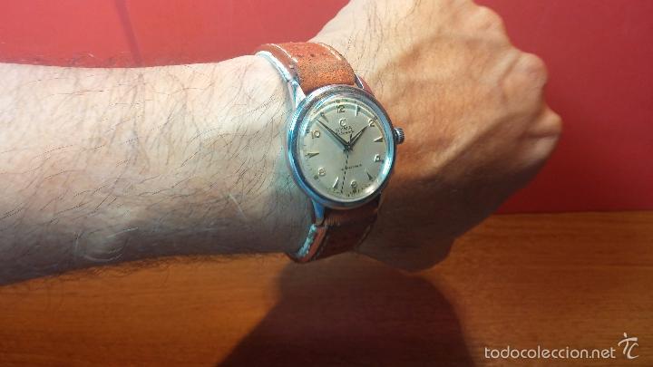 Relojes automáticos: Primer reloj Cyma Automático, shock Absorber-cal. R420 martillo, C-1948, Nºbajísimo 152656 - Foto 23 - 57121634