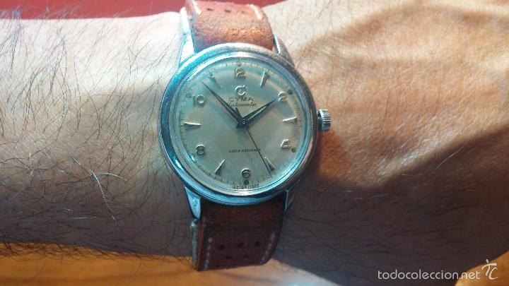 Relojes automáticos: Primer reloj Cyma Automático, shock Absorber-cal. R420 martillo, C-1948, Nºbajísimo 152656 - Foto 26 - 57121634