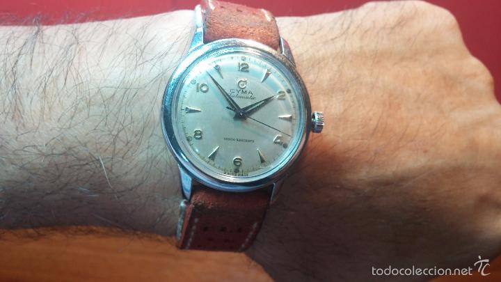 Relojes automáticos: Primer reloj Cyma Automático, shock Absorber-cal. R420 martillo, C-1948, Nºbajísimo 152656 - Foto 29 - 57121634