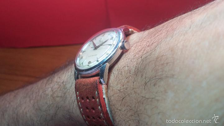 Relojes automáticos: Primer reloj Cyma Automático, shock Absorber-cal. R420 martillo, C-1948, Nºbajísimo 152656 - Foto 30 - 57121634