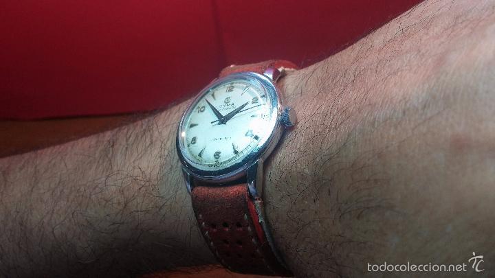 Relojes automáticos: Primer reloj Cyma Automático, shock Absorber-cal. R420 martillo, C-1948, Nºbajísimo 152656 - Foto 31 - 57121634