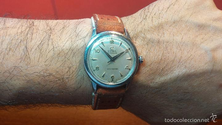 Relojes automáticos: Primer reloj Cyma Automático, shock Absorber-cal. R420 martillo, C-1948, Nºbajísimo 152656 - Foto 32 - 57121634
