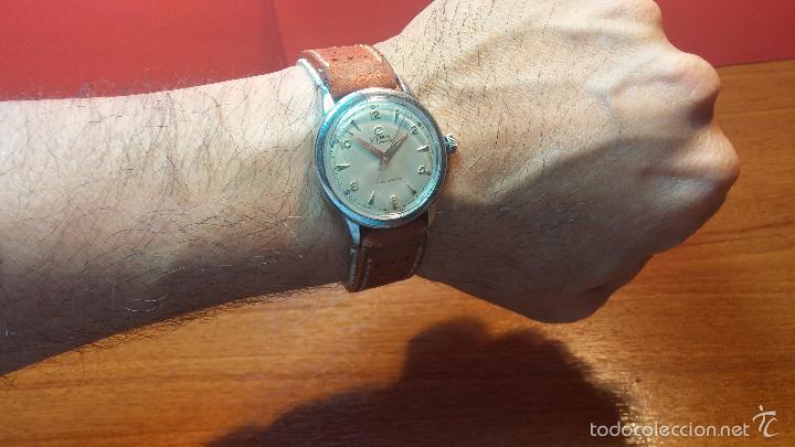 Relojes automáticos: Primer reloj Cyma Automático, shock Absorber-cal. R420 martillo, C-1948, Nºbajísimo 152656 - Foto 33 - 57121634