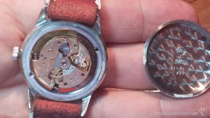 Relojes automáticos: Primer reloj Cyma Automático, shock Absorber-cal. R420 martillo, C-1948, Nºbajísimo 152656 - Foto 36 - 57121634