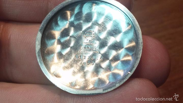 Relojes automáticos: Primer reloj Cyma Automático, shock Absorber-cal. R420 martillo, C-1948, Nºbajísimo 152656 - Foto 37 - 57121634