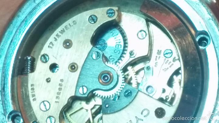 Relojes automáticos: Primer reloj Cyma Automático, shock Absorber-cal. R420 martillo, C-1948, Nºbajísimo 152656 - Foto 40 - 57121634