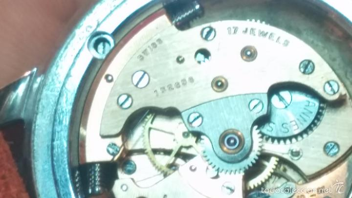 Relojes automáticos: Primer reloj Cyma Automático, shock Absorber-cal. R420 martillo, C-1948, Nºbajísimo 152656 - Foto 41 - 57121634