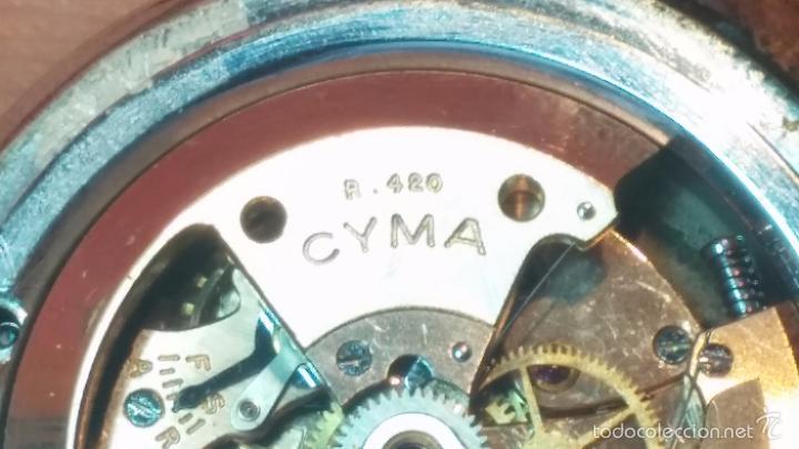Relojes automáticos: Primer reloj Cyma Automático, shock Absorber-cal. R420 martillo, C-1948, Nºbajísimo 152656 - Foto 44 - 57121634