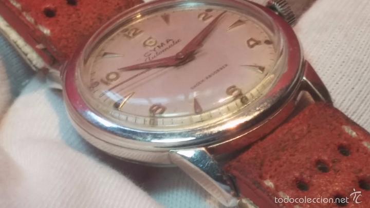 Relojes automáticos: Primer reloj Cyma Automático, shock Absorber-cal. R420 martillo, C-1948, Nºbajísimo 152656 - Foto 47 - 57121634