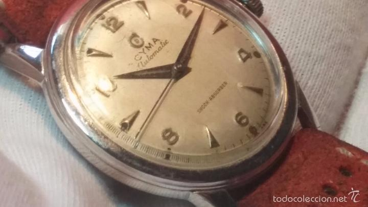 Relojes automáticos: Primer reloj Cyma Automático, shock Absorber-cal. R420 martillo, C-1948, Nºbajísimo 152656 - Foto 48 - 57121634