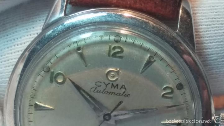 Relojes automáticos: Primer reloj Cyma Automático, shock Absorber-cal. R420 martillo, C-1948, Nºbajísimo 152656 - Foto 51 - 57121634