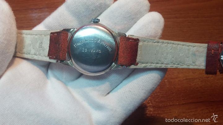 Relojes automáticos: Primer reloj Cyma Automático, shock Absorber-cal. R420 martillo, C-1948, Nºbajísimo 152656 - Foto 60 - 57121634