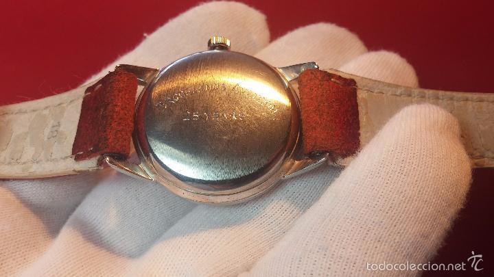 Relojes automáticos: Primer reloj Cyma Automático, shock Absorber-cal. R420 martillo, C-1948, Nºbajísimo 152656 - Foto 61 - 57121634