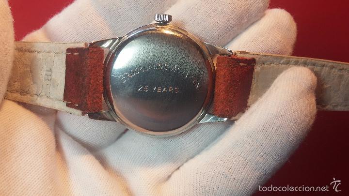 Relojes automáticos: Primer reloj Cyma Automático, shock Absorber-cal. R420 martillo, C-1948, Nºbajísimo 152656 - Foto 62 - 57121634