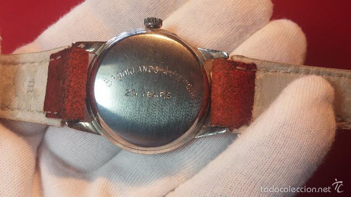 Relojes automáticos: Primer reloj Cyma Automático, shock Absorber-cal. R420 martillo, C-1948, Nºbajísimo 152656 - Foto 63 - 57121634