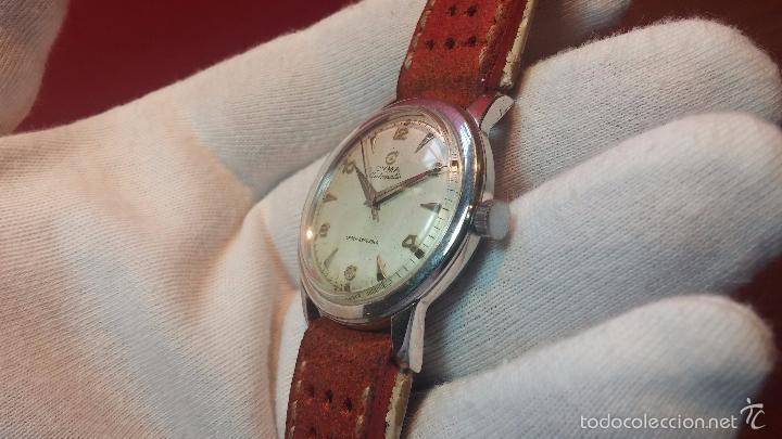Relojes automáticos: Primer reloj Cyma Automático, shock Absorber-cal. R420 martillo, C-1948, Nºbajísimo 152656 - Foto 66 - 57121634