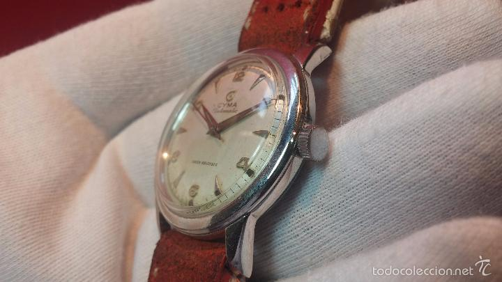 Relojes automáticos: Primer reloj Cyma Automático, shock Absorber-cal. R420 martillo, C-1948, Nºbajísimo 152656 - Foto 67 - 57121634