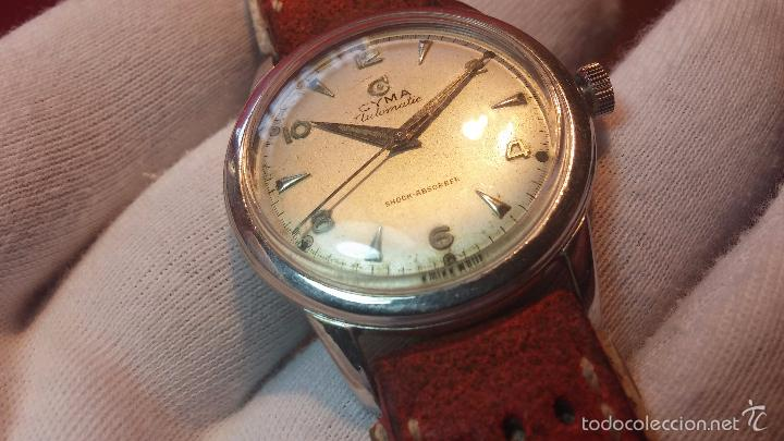Relojes automáticos: Primer reloj Cyma Automático, shock Absorber-cal. R420 martillo, C-1948, Nºbajísimo 152656 - Foto 70 - 57121634