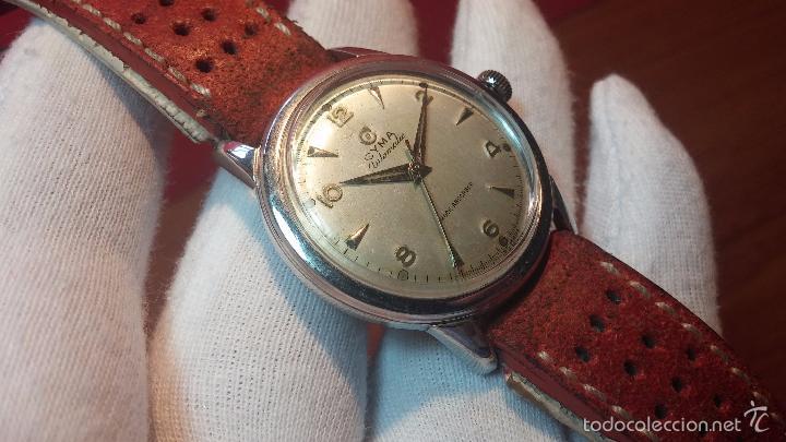 Relojes automáticos: Primer reloj Cyma Automático, shock Absorber-cal. R420 martillo, C-1948, Nºbajísimo 152656 - Foto 71 - 57121634