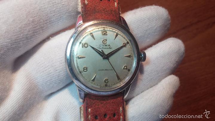Relojes automáticos: Primer reloj Cyma Automático, shock Absorber-cal. R420 martillo, C-1948, Nºbajísimo 152656 - Foto 72 - 57121634