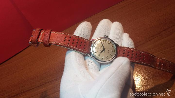 Relojes automáticos: Primer reloj Cyma Automático, shock Absorber-cal. R420 martillo, C-1948, Nºbajísimo 152656 - Foto 76 - 57121634